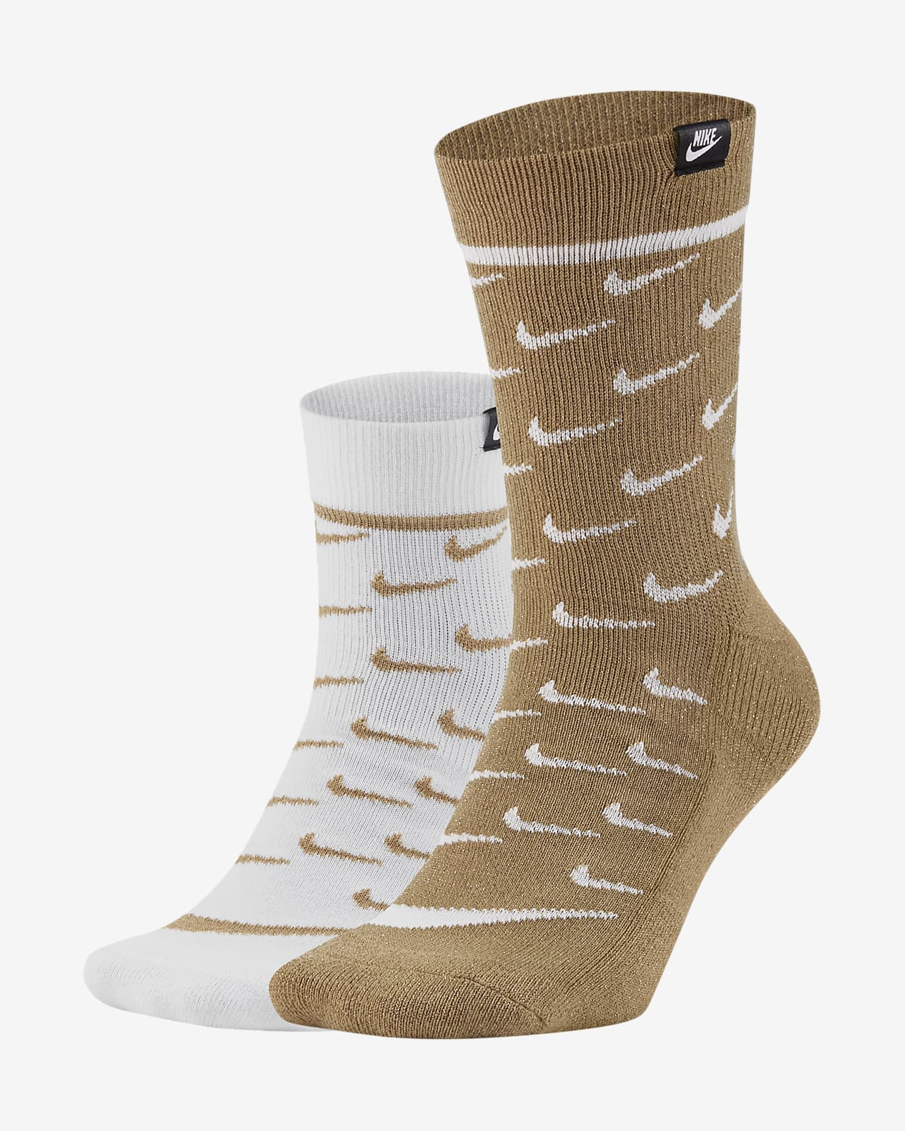 Nike Sportswear SNEAKR Sox Crew sokken (2 paar)