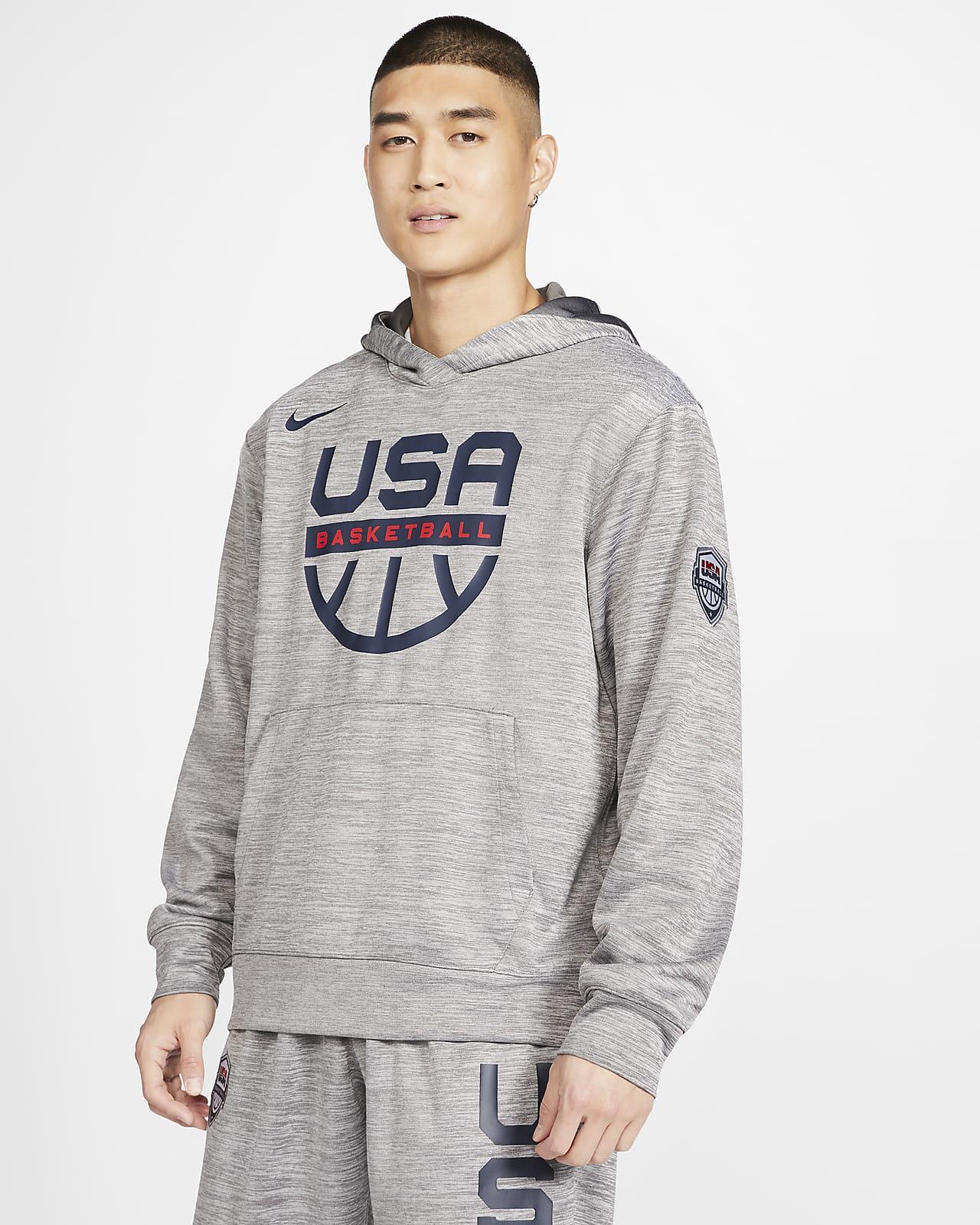 Sweat à capuche de basketball USA Nike Spotlight pour Homme