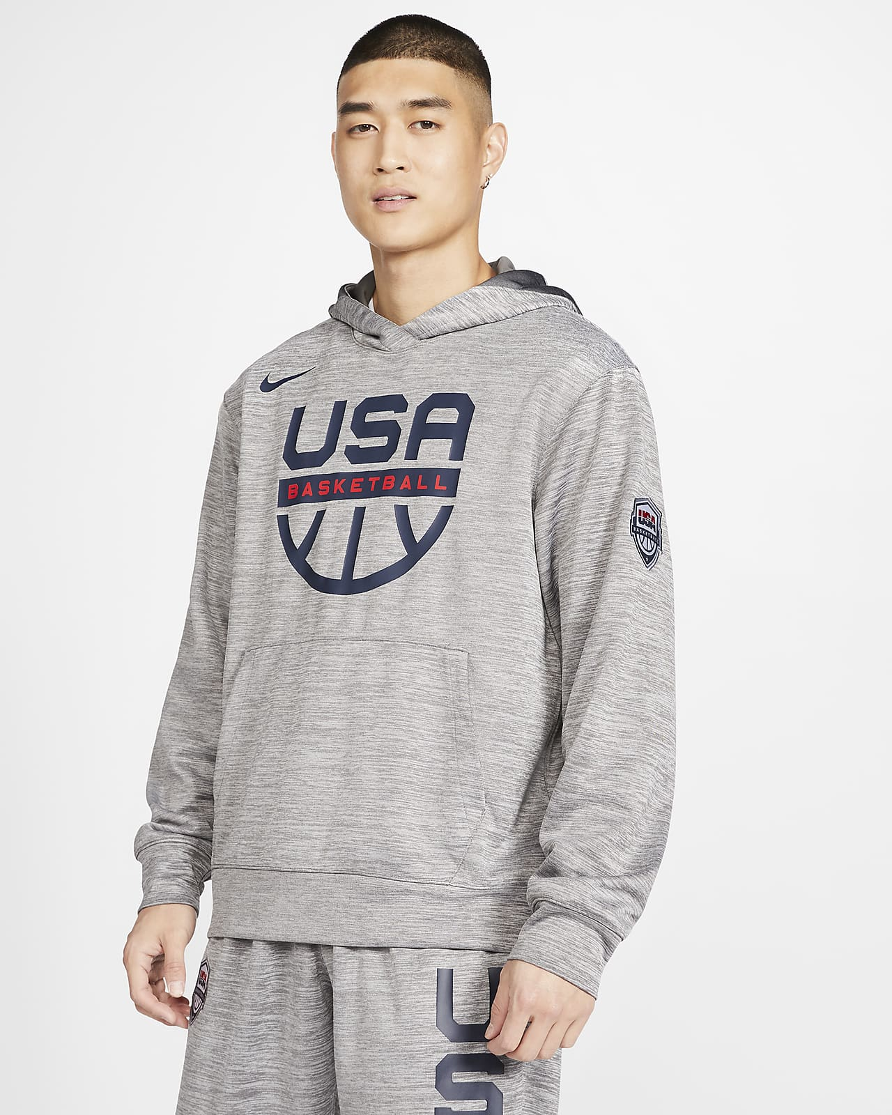 USA Nike Spotlight Men's Basketball Hoodie