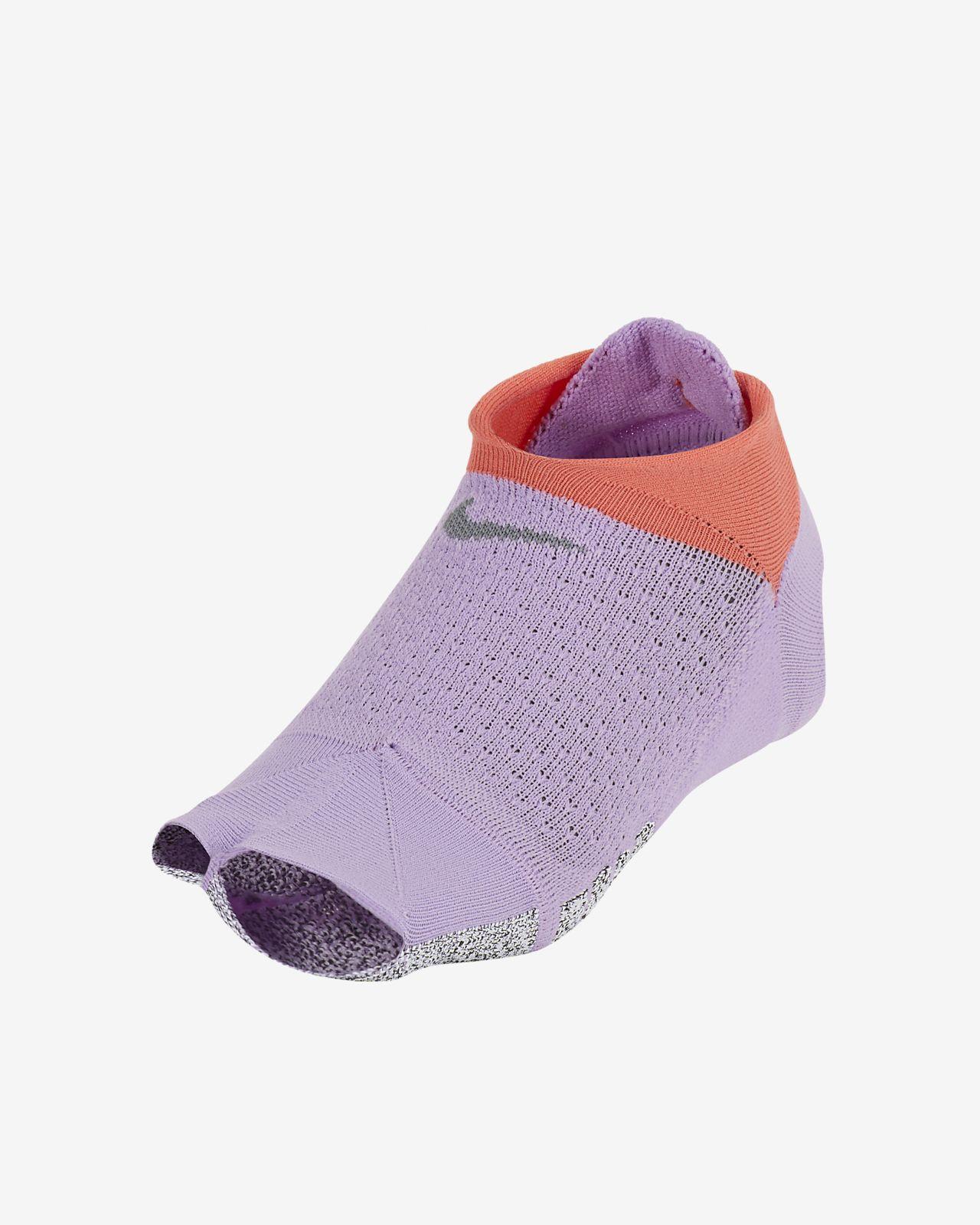 NikeGrip Studio footie-sokker uten tær til dame