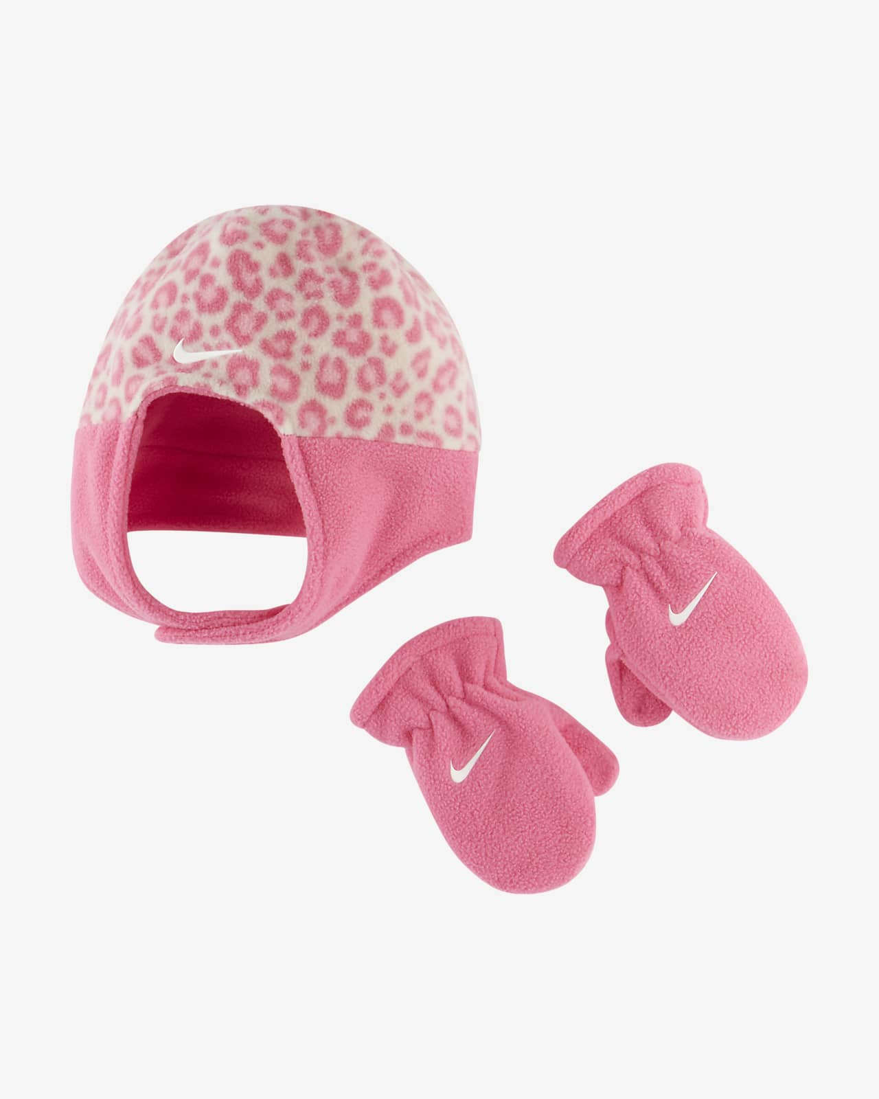 Nike Toddler Hat and Mittens Set