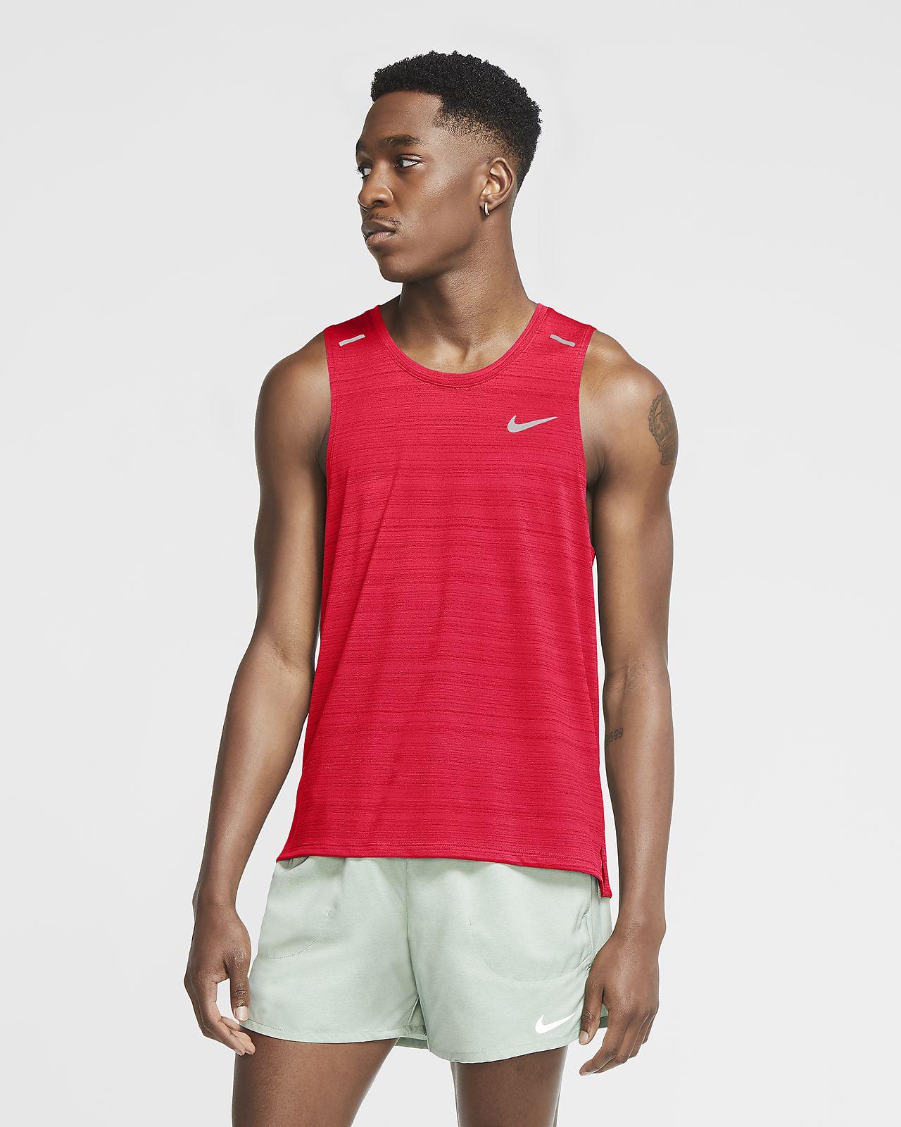 Pánské běžecké tílko Nike Dri-FIT Miler
