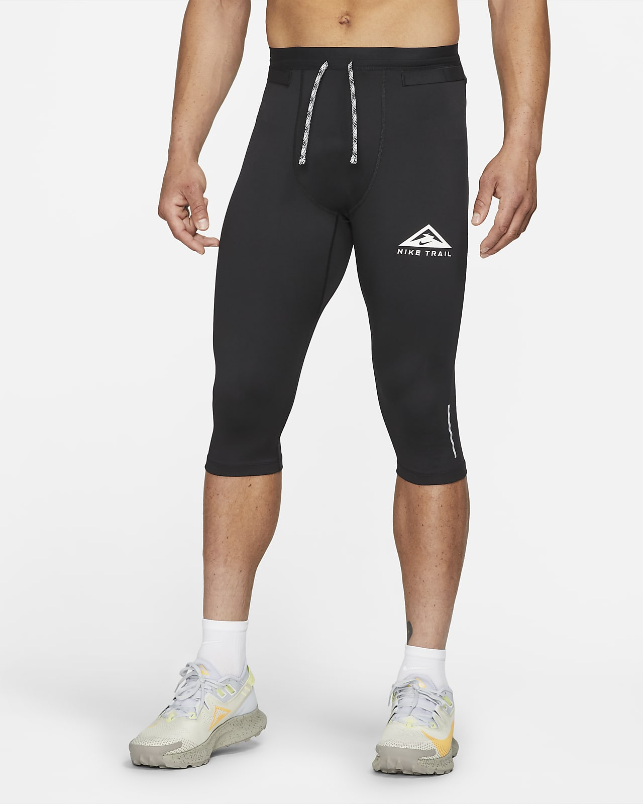 Мужские тайтсы для трейлраннинга длиной 3/4 Nike Dri-FIT