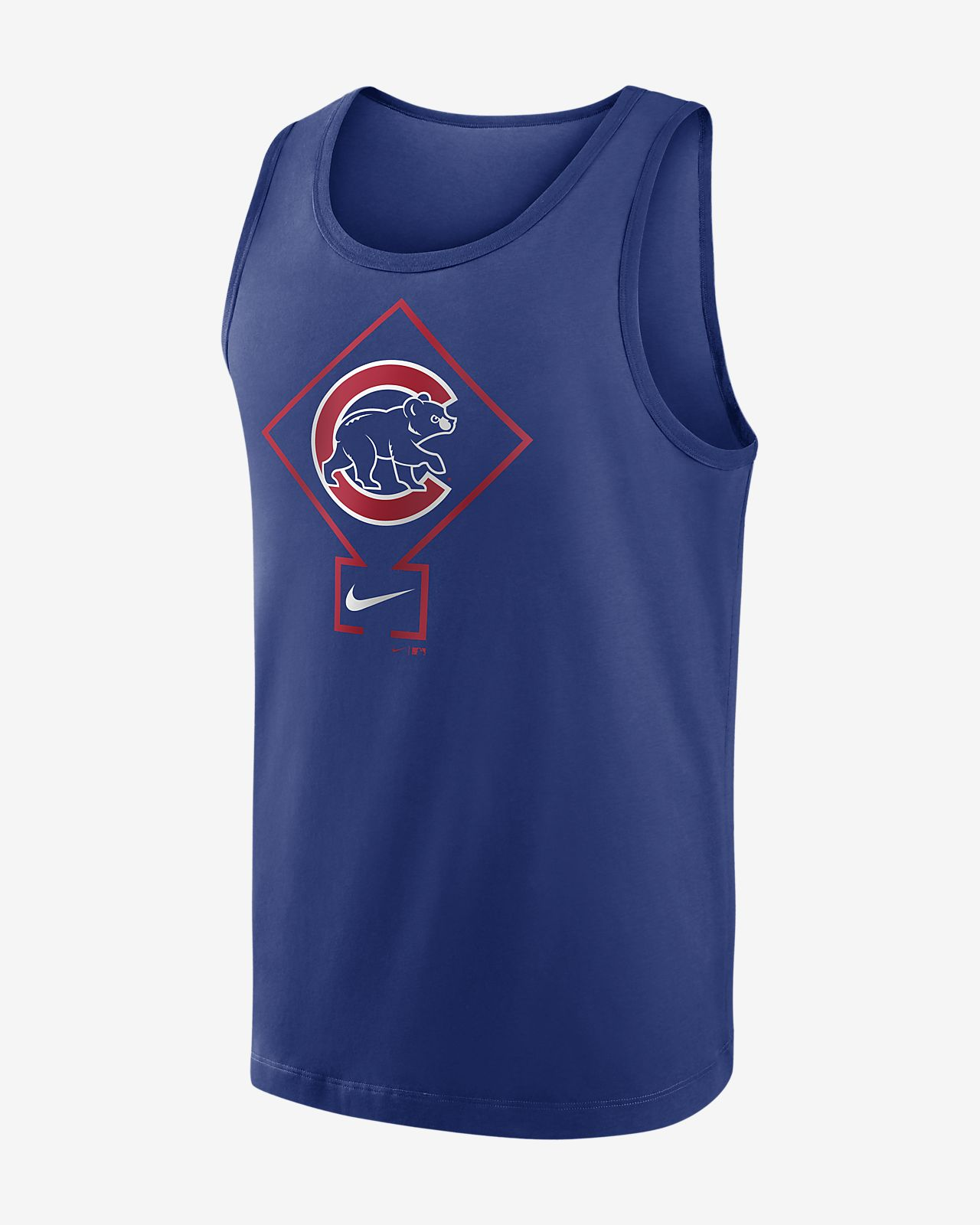 Nike Diamond Logo Classic (MLB Chicago Cubs) Men's Tank Top