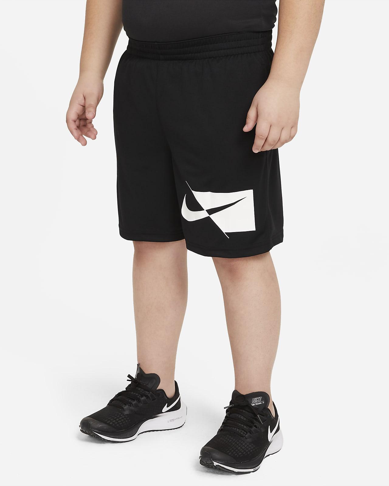 Nike Dri-FIT Pantalón corto de entrenamiento (Talla grande) - Niño