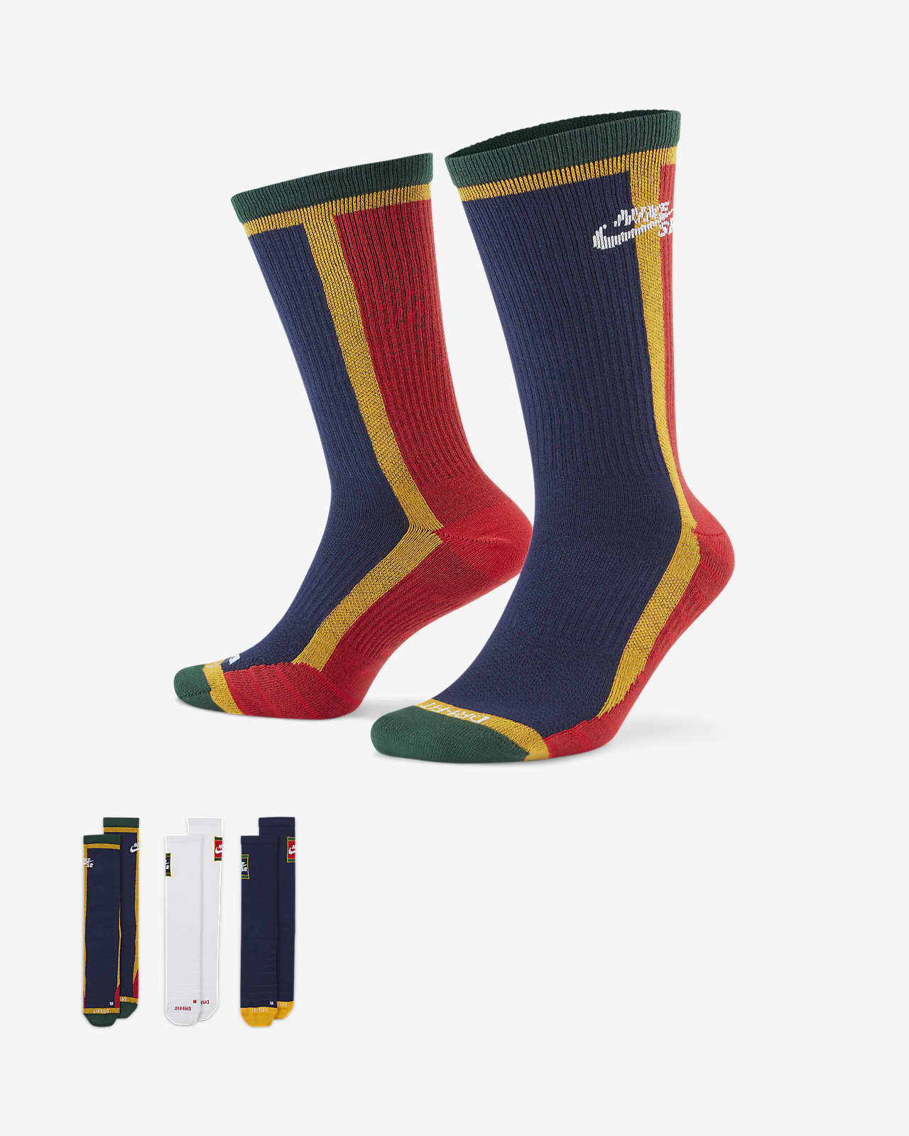 Calcetines deportivos de skateboarding Nike SB Everyday Max Lightweight (3 pares)