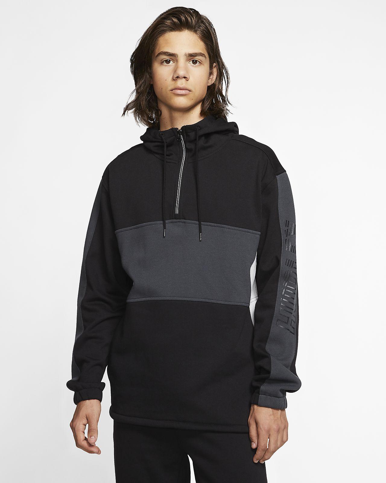 nike hoodie 1/4 zip