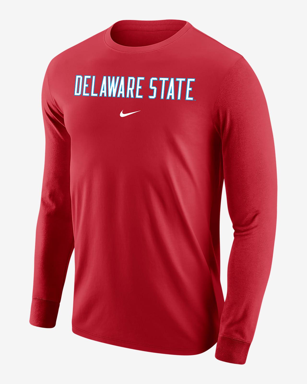 Nike College (Delaware State) Men's Long-Sleeve T-Shirt