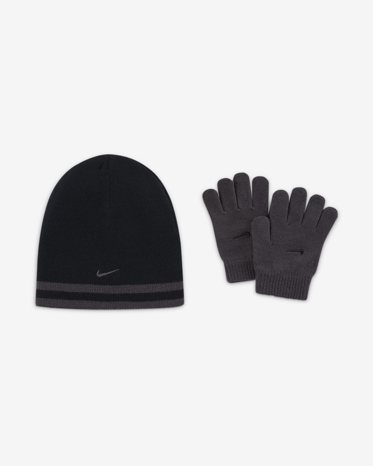 Nike Big Kids' Beanie and Gloves Set