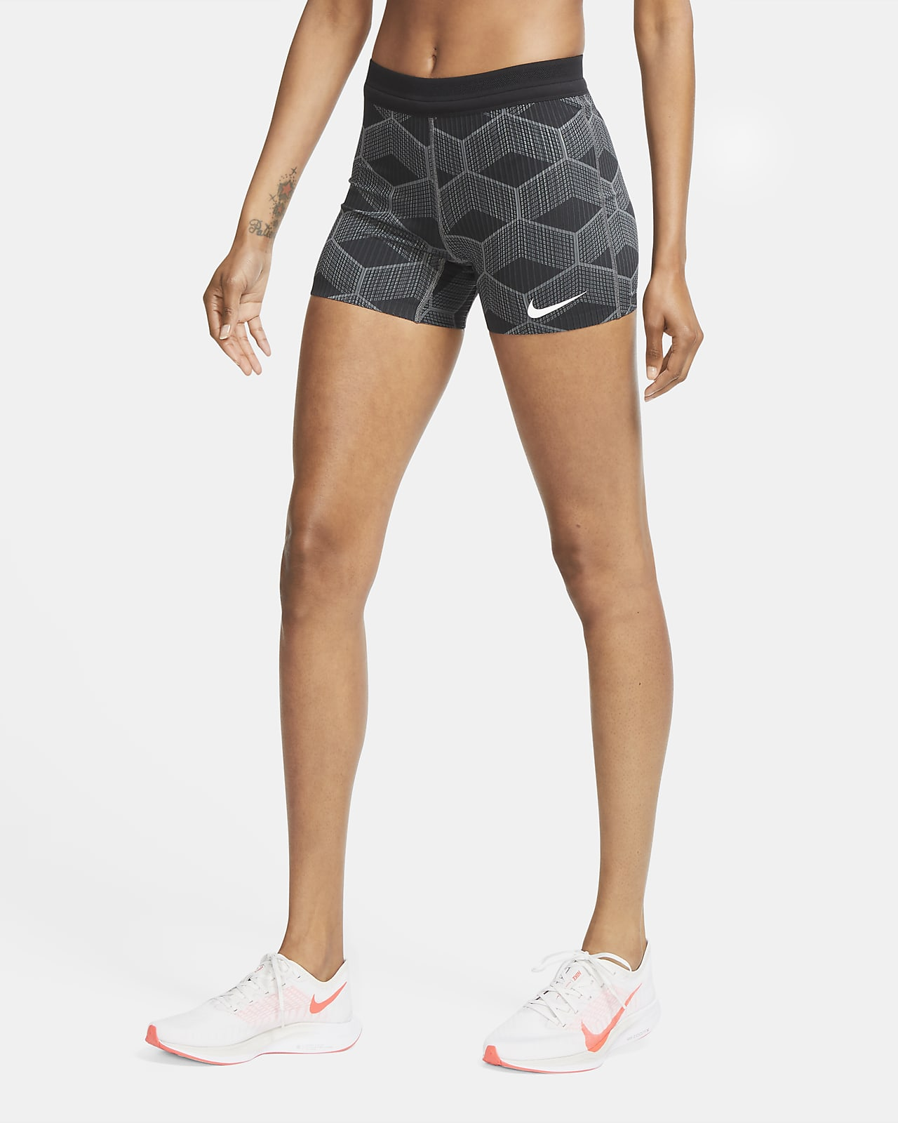 Calções de running justos Nike Dri-FIT ADV Team Kenya AeroSwift para mulher