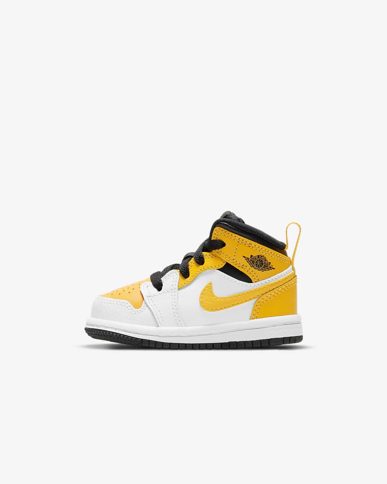 Jordan 1 Mid Infant/Toddler Shoes