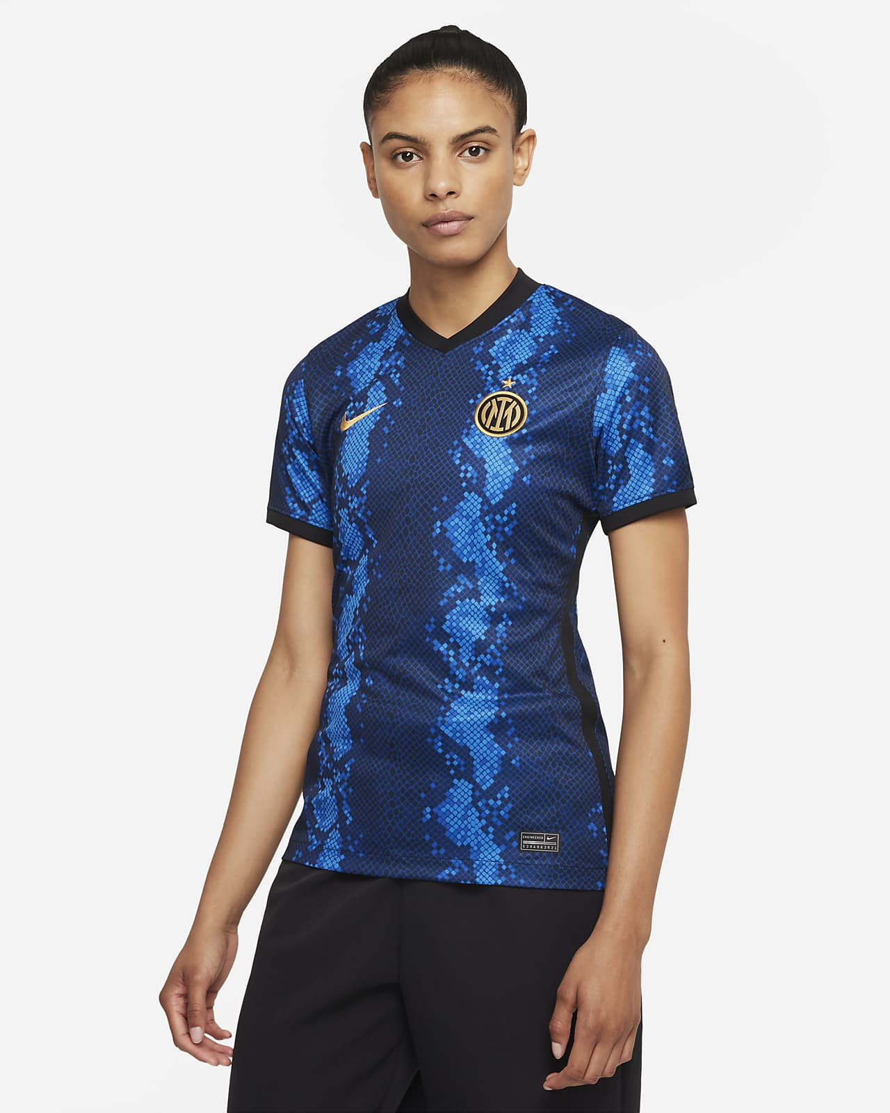 Inter Milan 2021/22 Stadium Home Women's Nike Dri-FIT Football Shirt