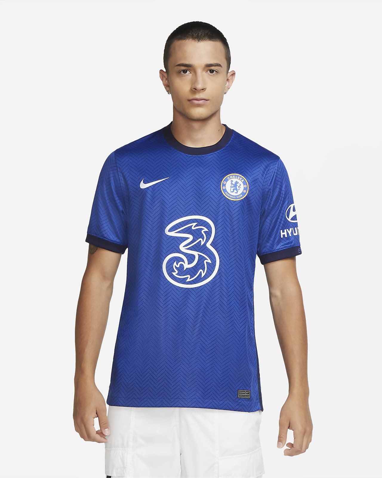 Męska koszulka piłkarska Chelsea FC Stadium 2020/21 (wersja domowa)