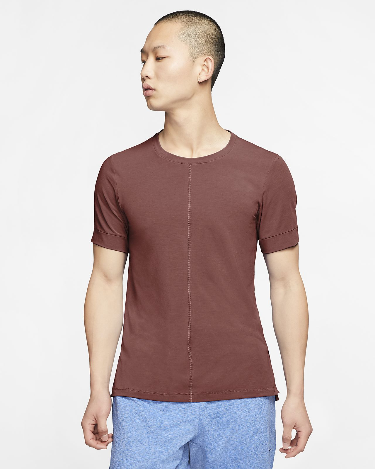 Nike Yoga Men's Short-Sleeve Top