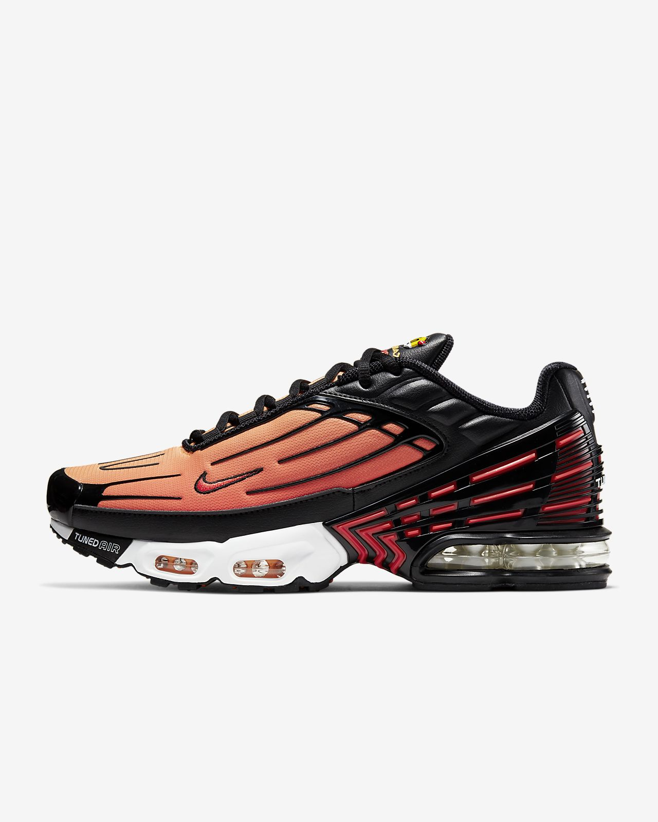 air max plus 3 rouge noir