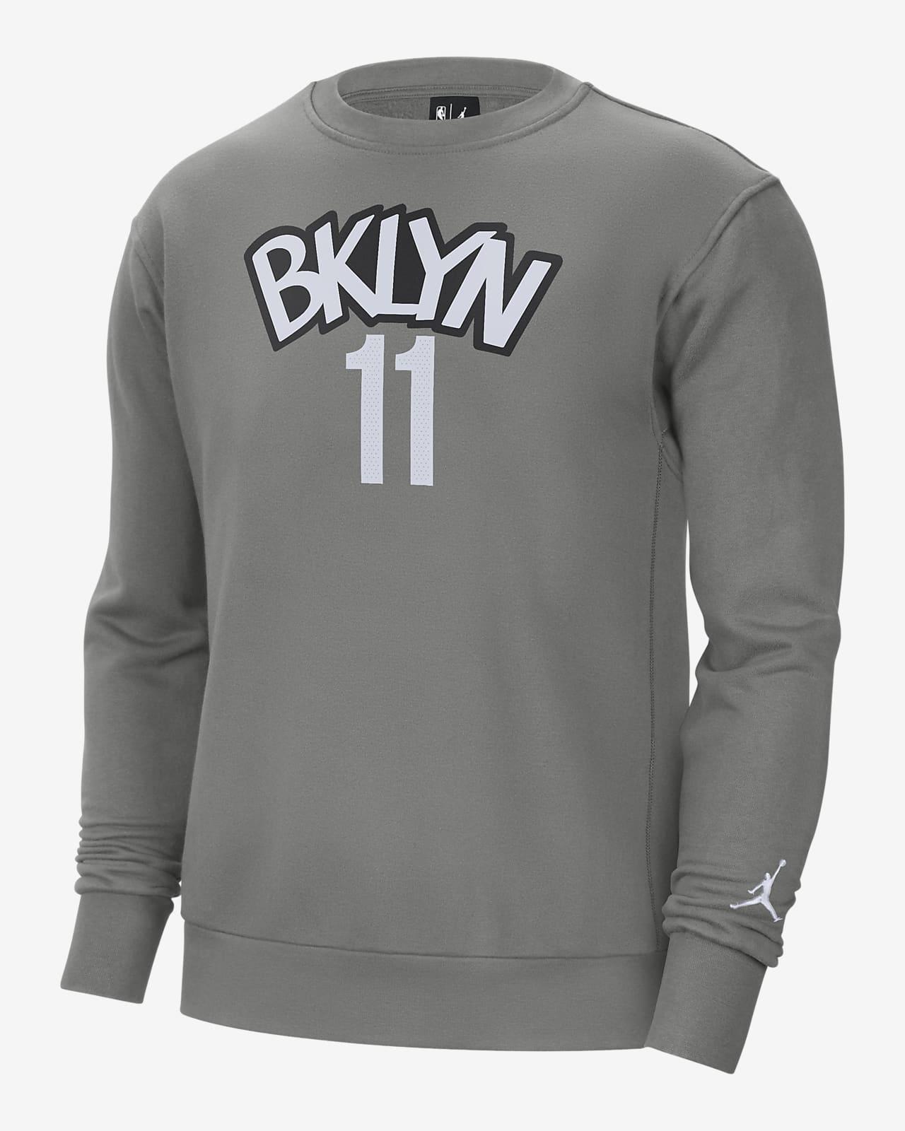 Brooklyn Nets Statement Edition Jordan NBA-herenshirt met ronde hals
