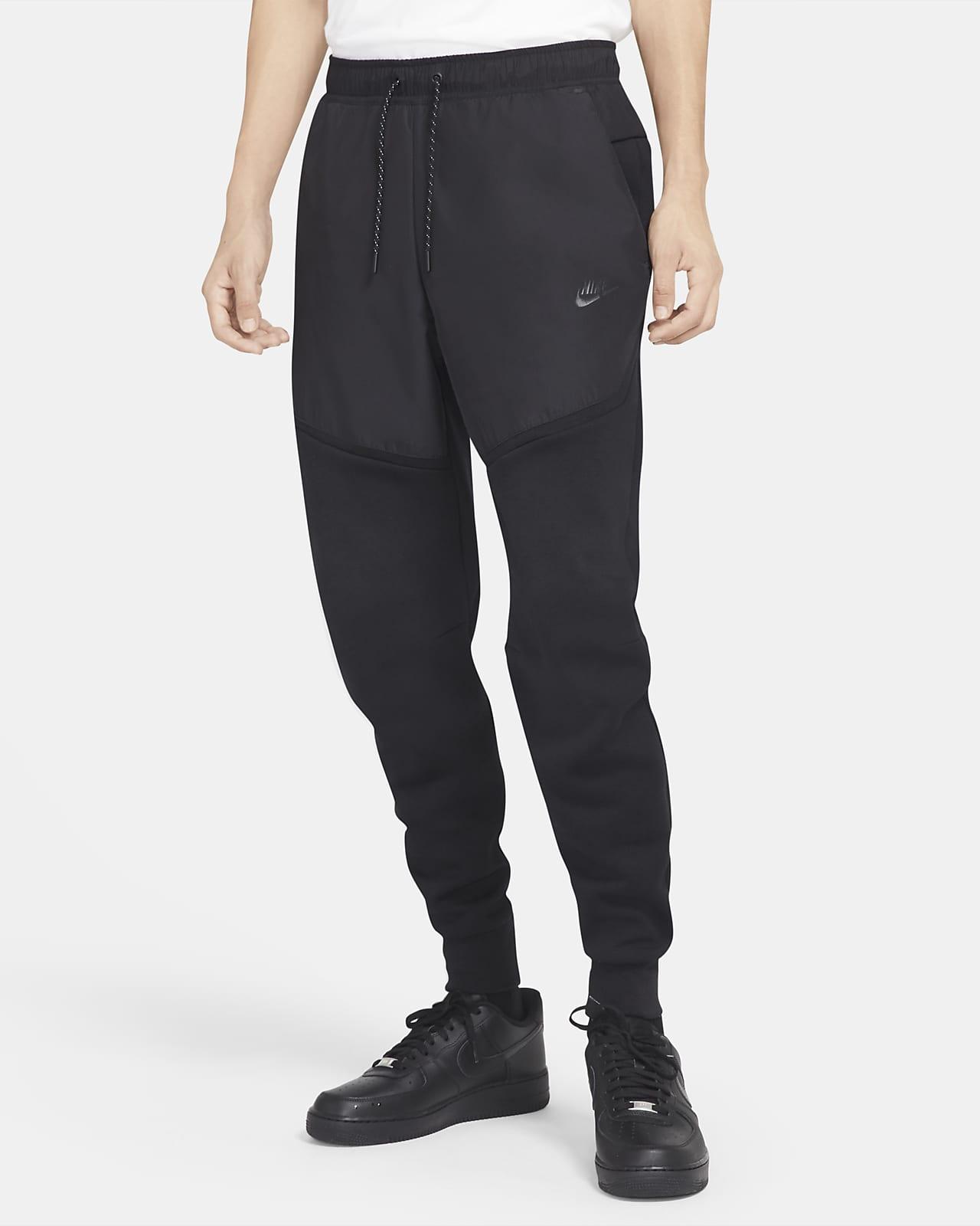 Nike Sportswear Tech vevd joggebukse i fleece til herre