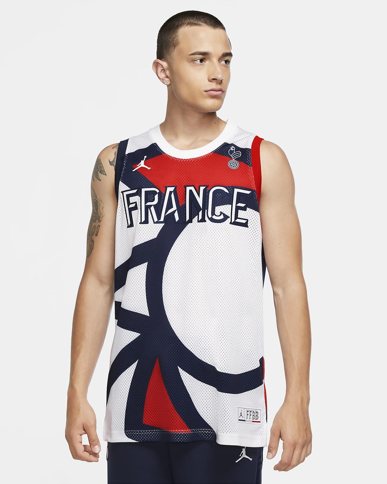 Frankreich Jordan Jumpman Herrentrikot