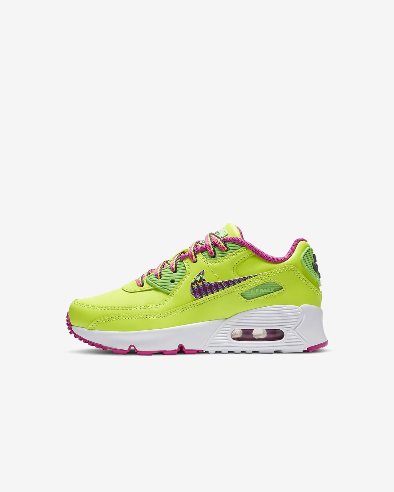 Nike Air Max 90 Leather Little Kids' Shoe