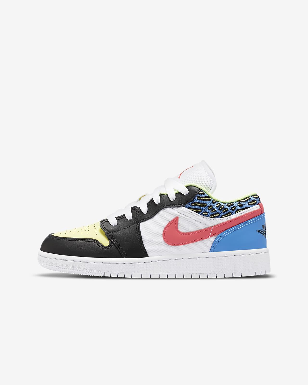 Air Jordan 1 Low (GS) 大童运动童鞋
