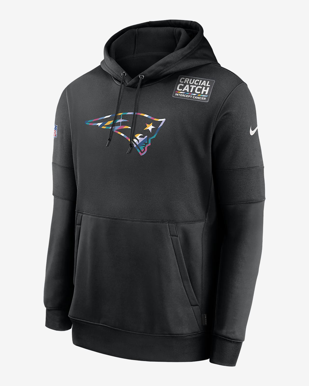 Nike Therma Crucial Catch (NFL Patriots) Men's Hoodie