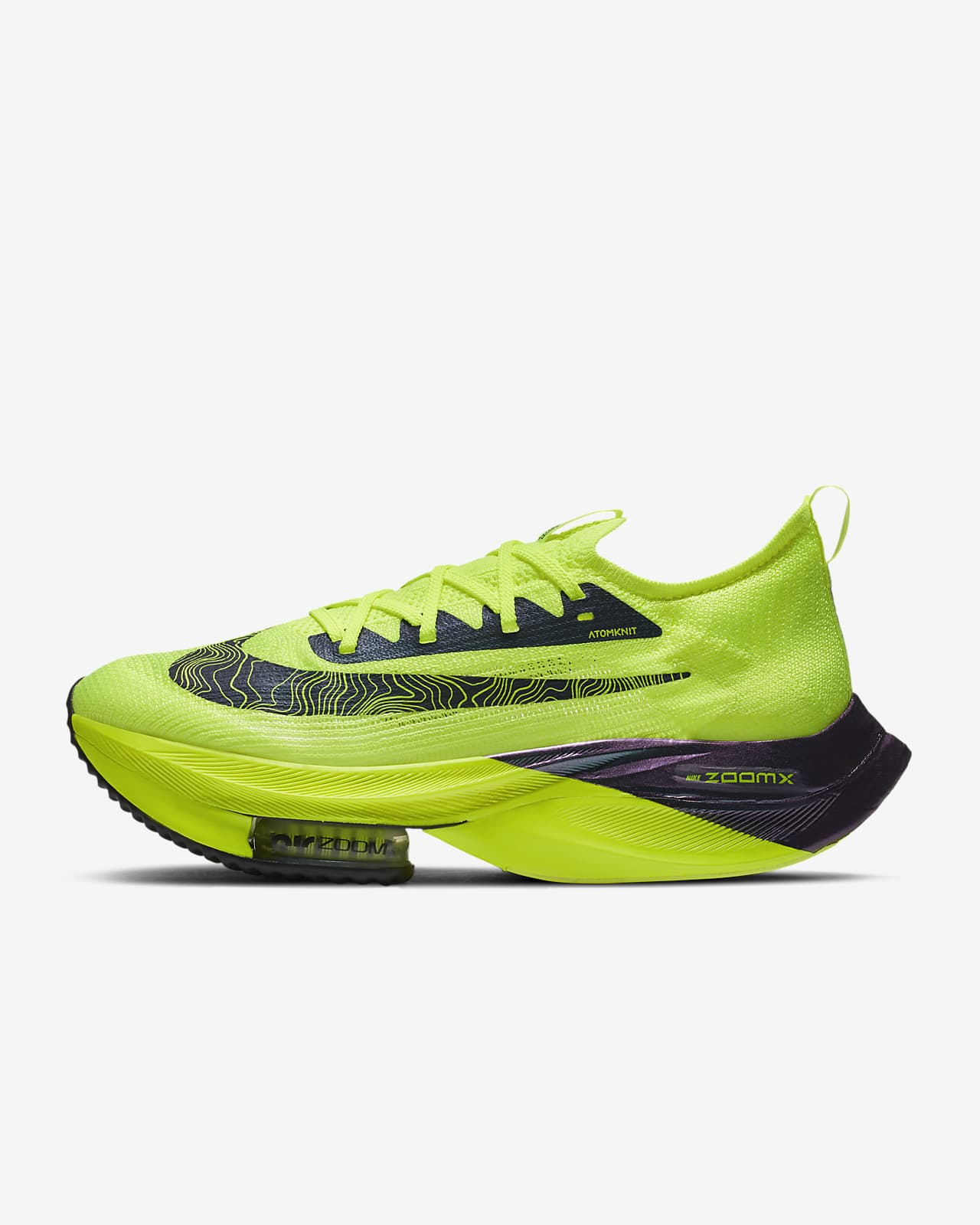 Nike Air Zoom Alphafly NEXT% Flyknit Men's Racing Shoe