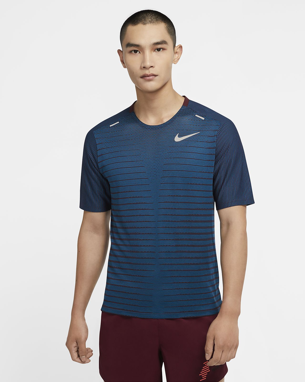 Camiseta de running para hombre Nike Techknit Future Fast
