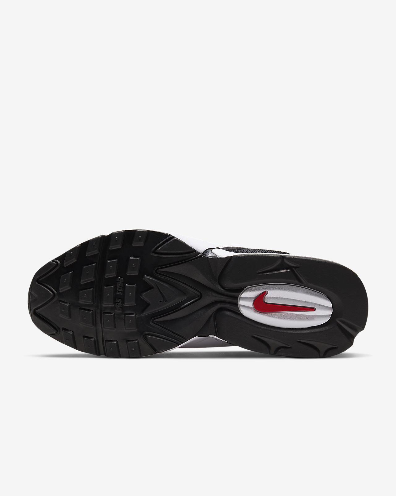 Nike Air Max Tailwind 96 12 'WhiteDark Grey Sport Red