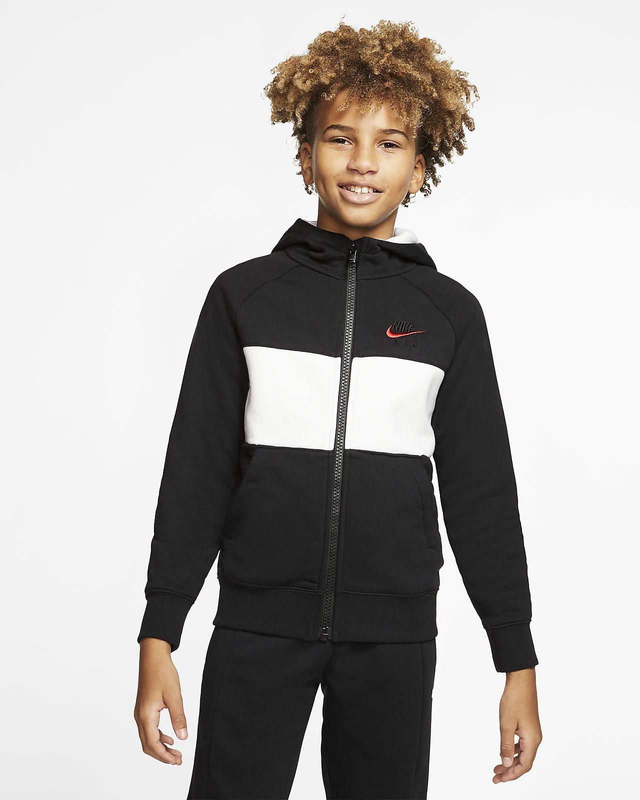 Худи с молнией во всю длину для мальчиков школьного возраста Nike Air