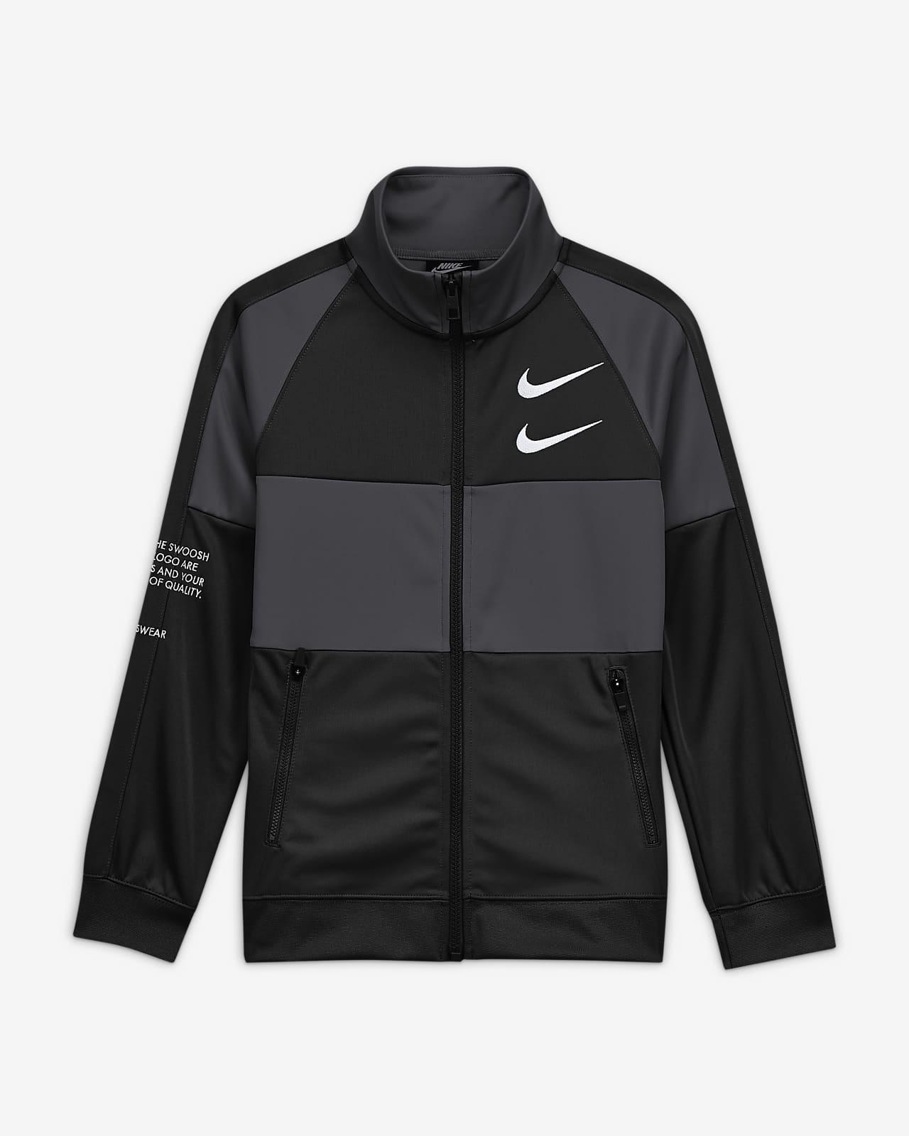 Jacka Nike Sportswear Swoosh för ungdom (killar)