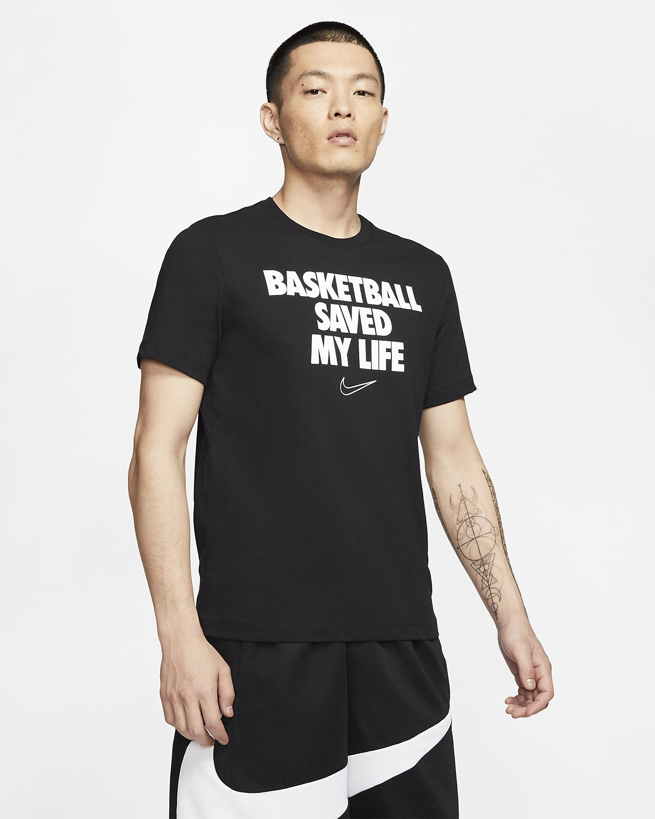 Tee-shirt de basketball Nike Dri-FIT « My Life » pour Homme