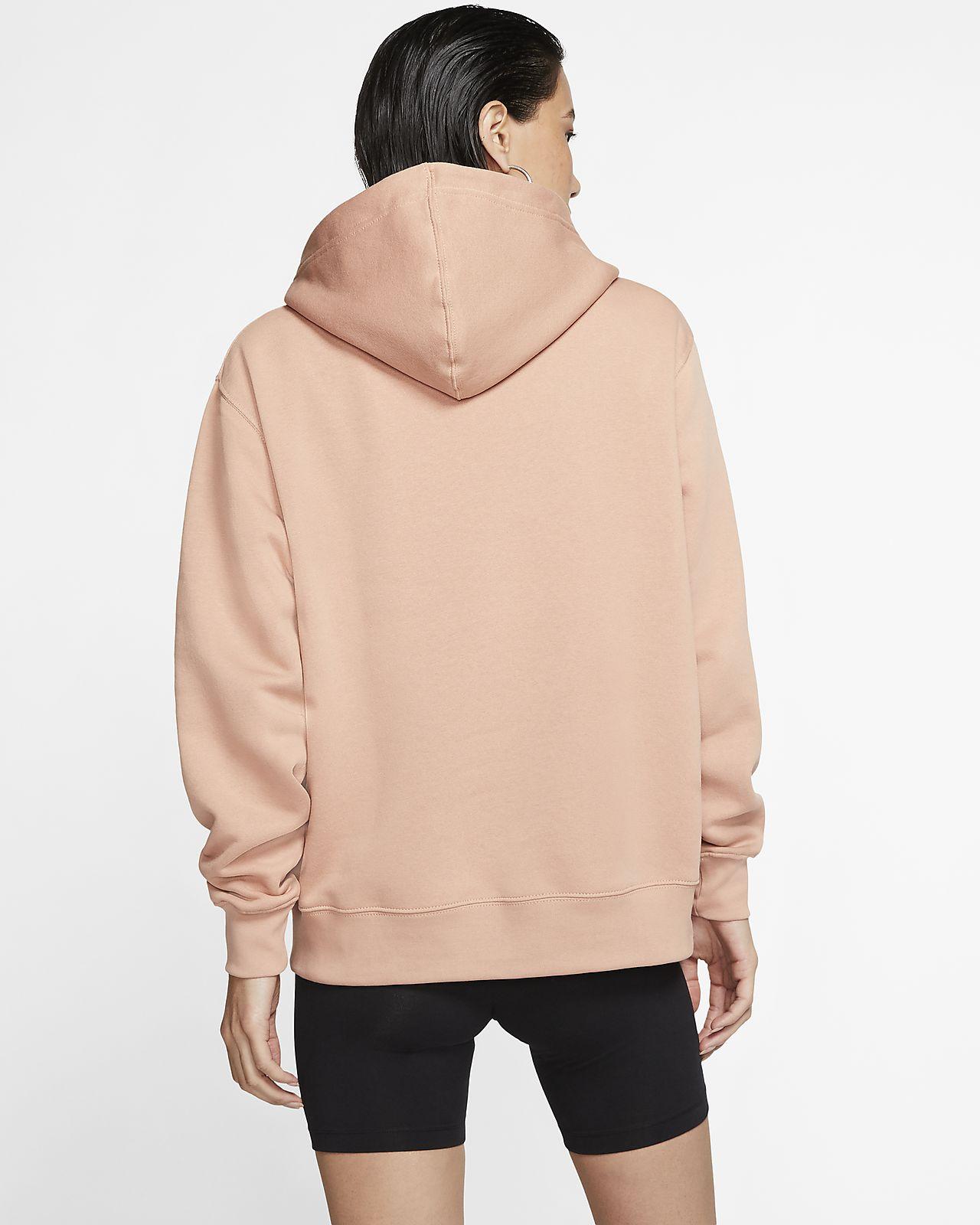 nike hoodie oversize femme