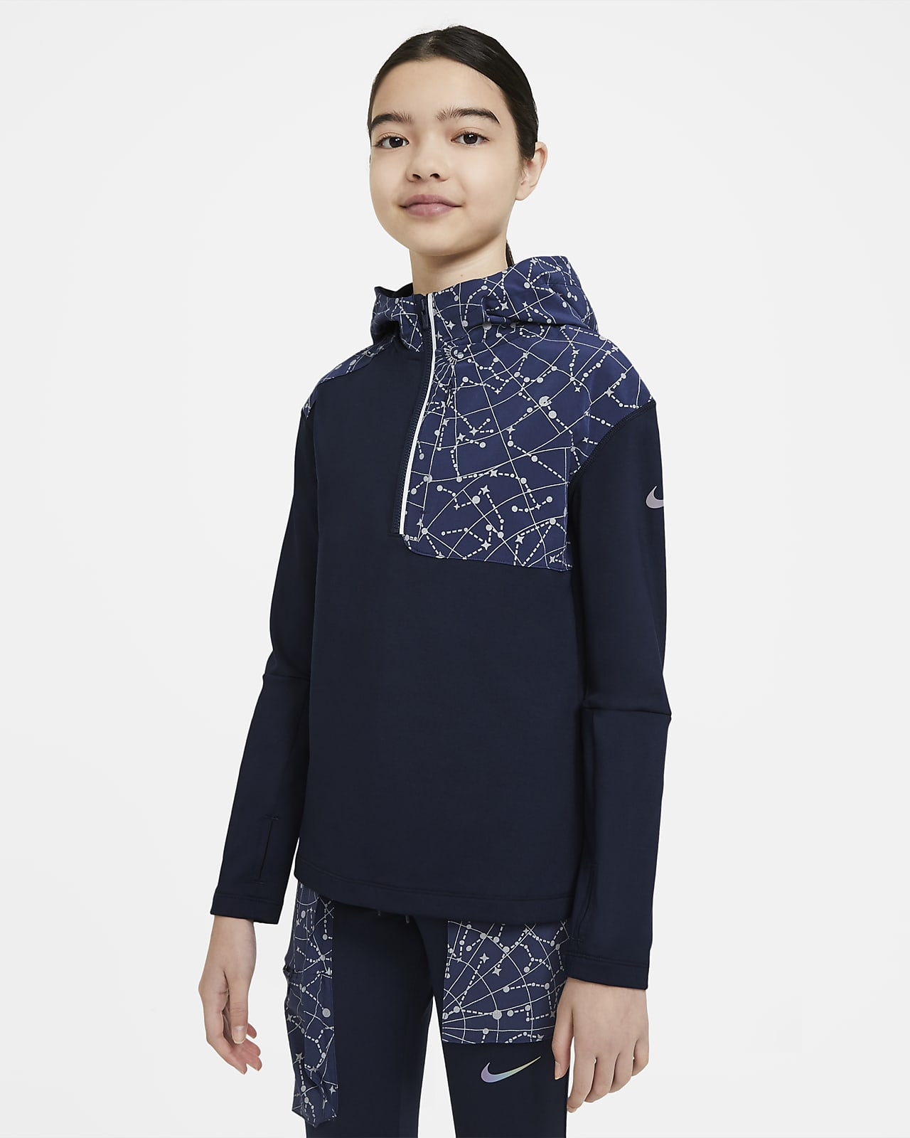 Tréninkové tričko Nike Pro Tech Pack pro větší děti (dívky)