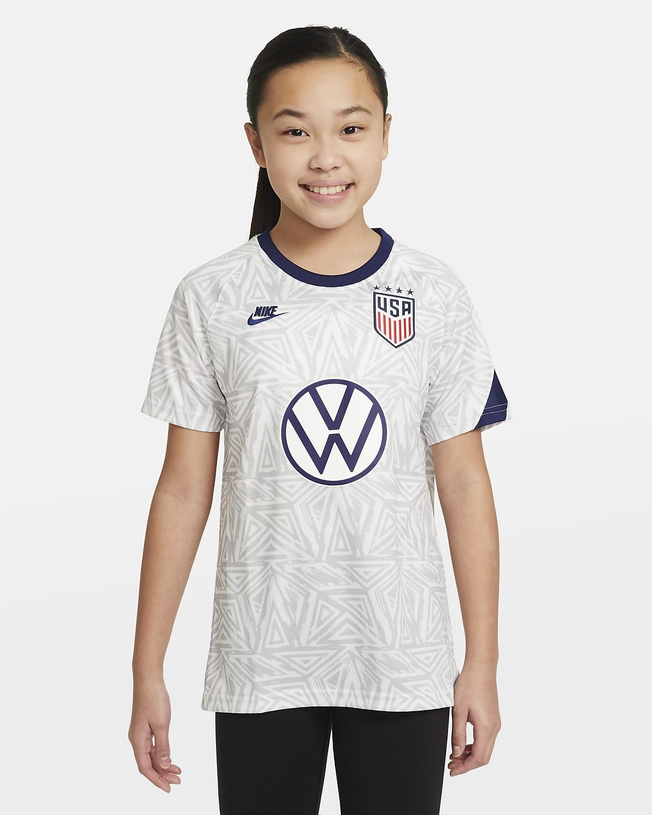 U.S. Big Kids' Pre-Match Short-Sleeve Soccer Top