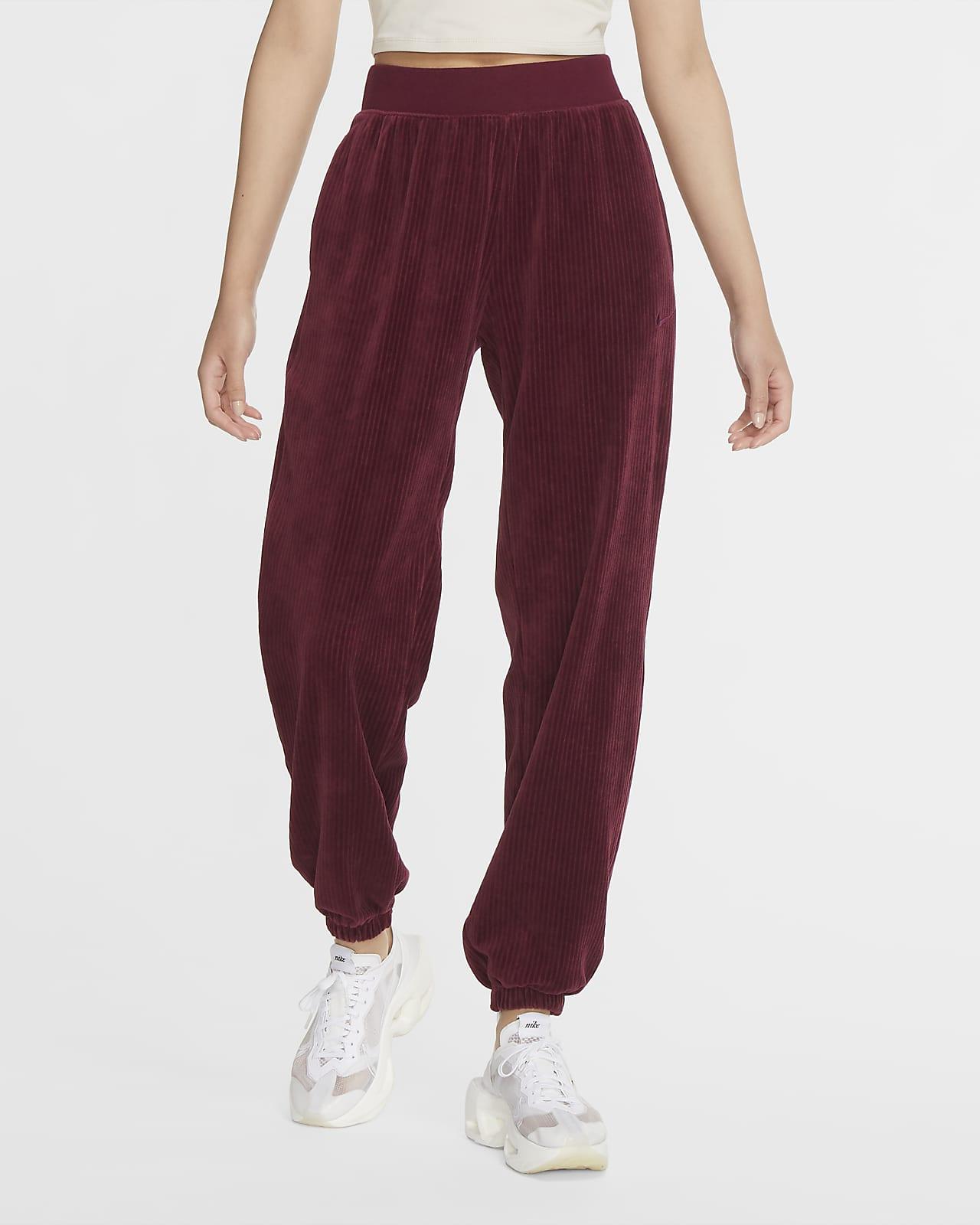 Pantalones de velour para mujer Nike Sportswear
