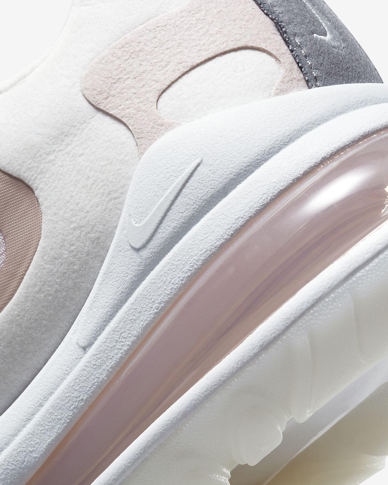 Nike Air Max 270 React Plum Chalk Stone Mauve (w) in White