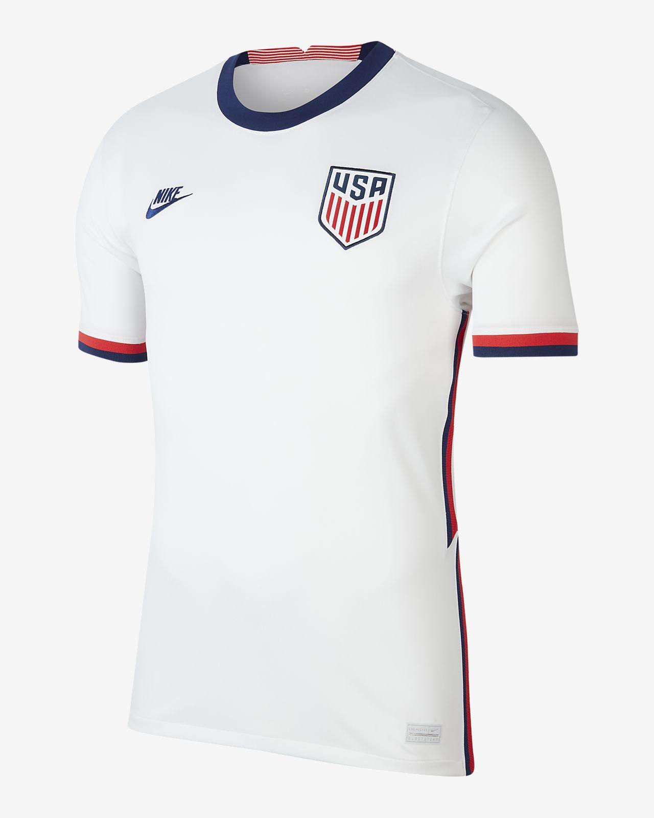 Maillot de football États-Unis 2020 Stadium Domicile pour Homme