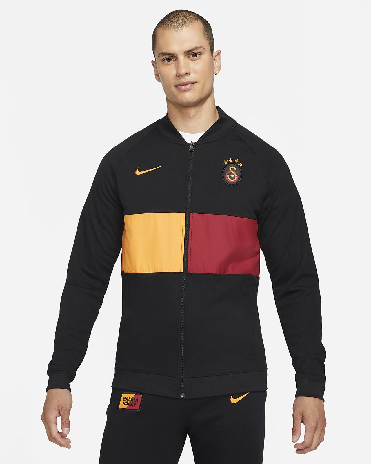 Galatasaray Fußball-Track-Jacket mit durchgehendem Reißverschluss für Herren