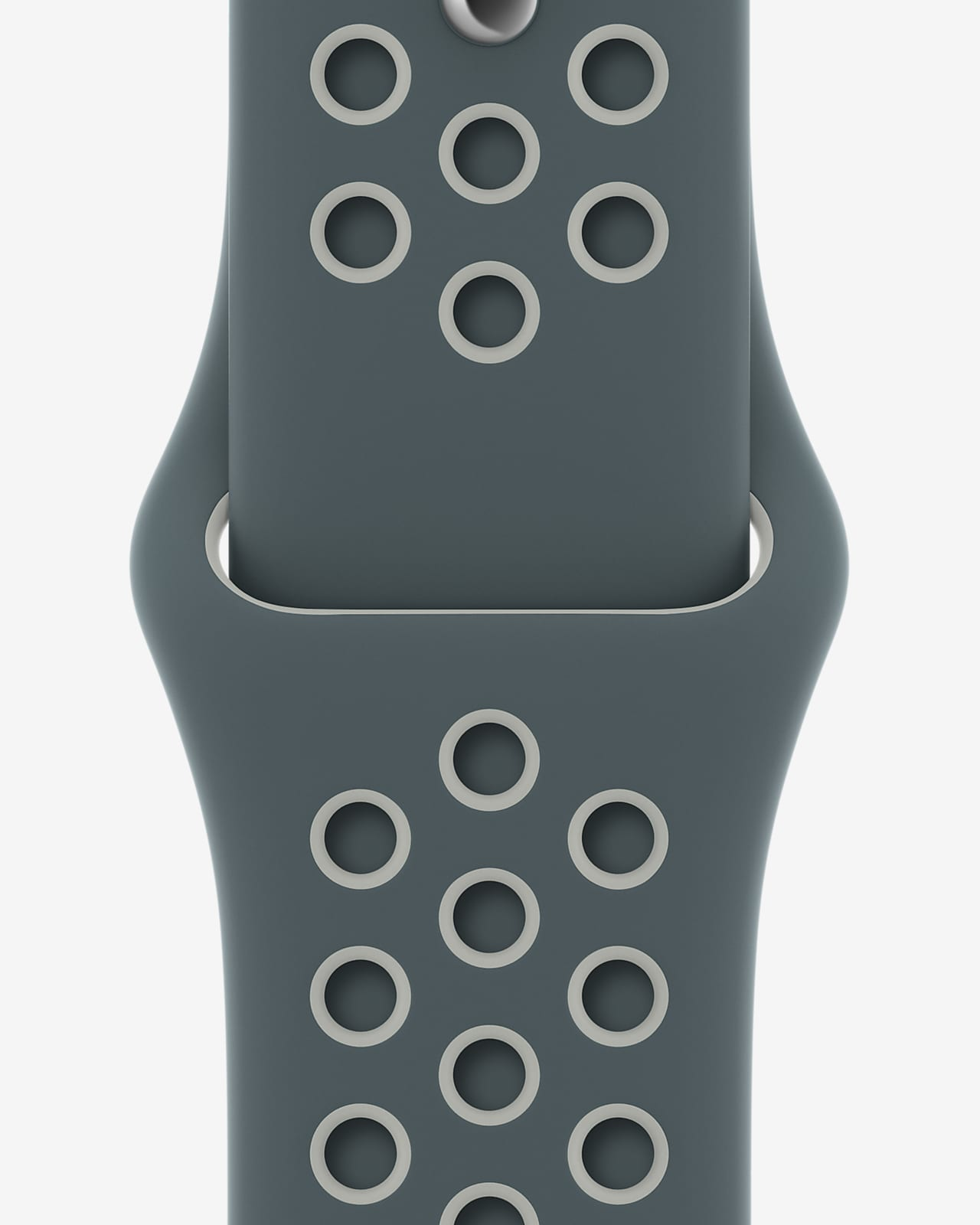 44mm Hasta/Light Silver Nike Sport Band - Regular