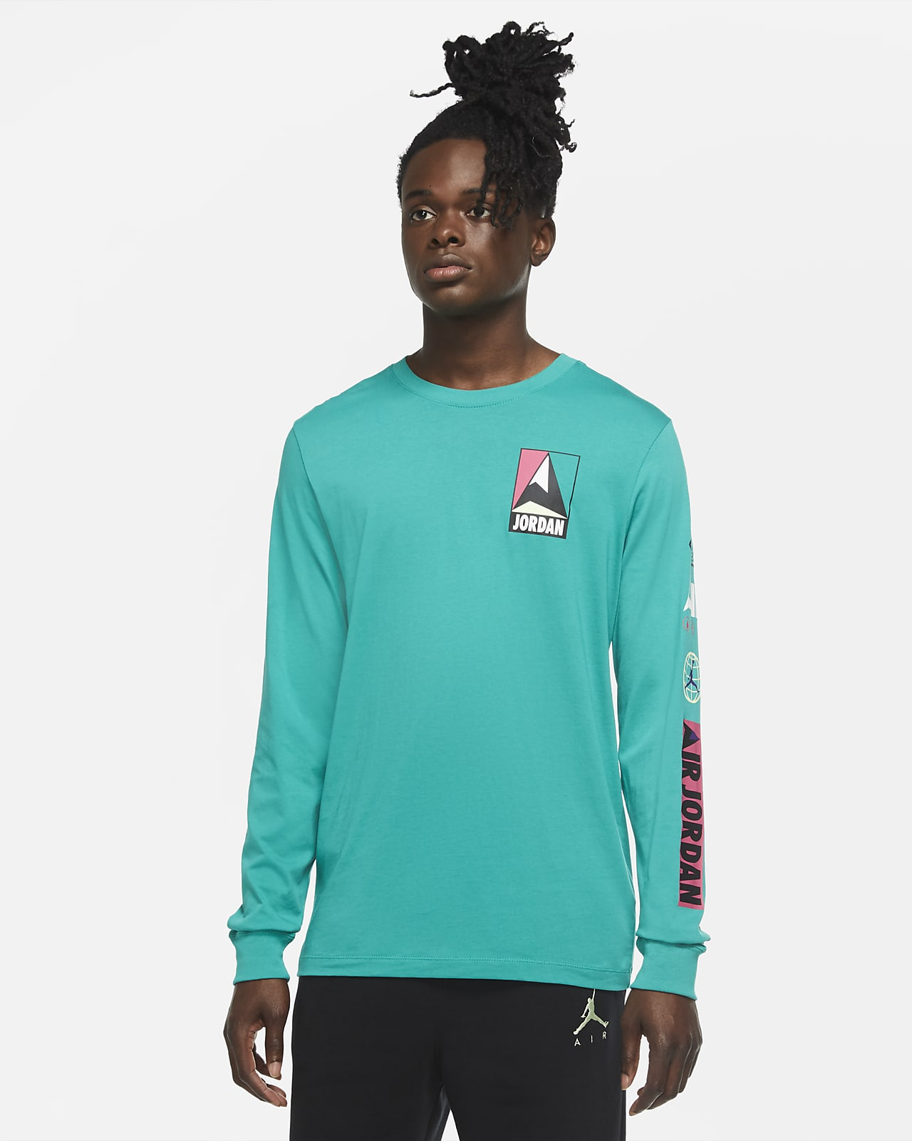 T-shirt a manica lunga Jordan Winter Utility - Uomo