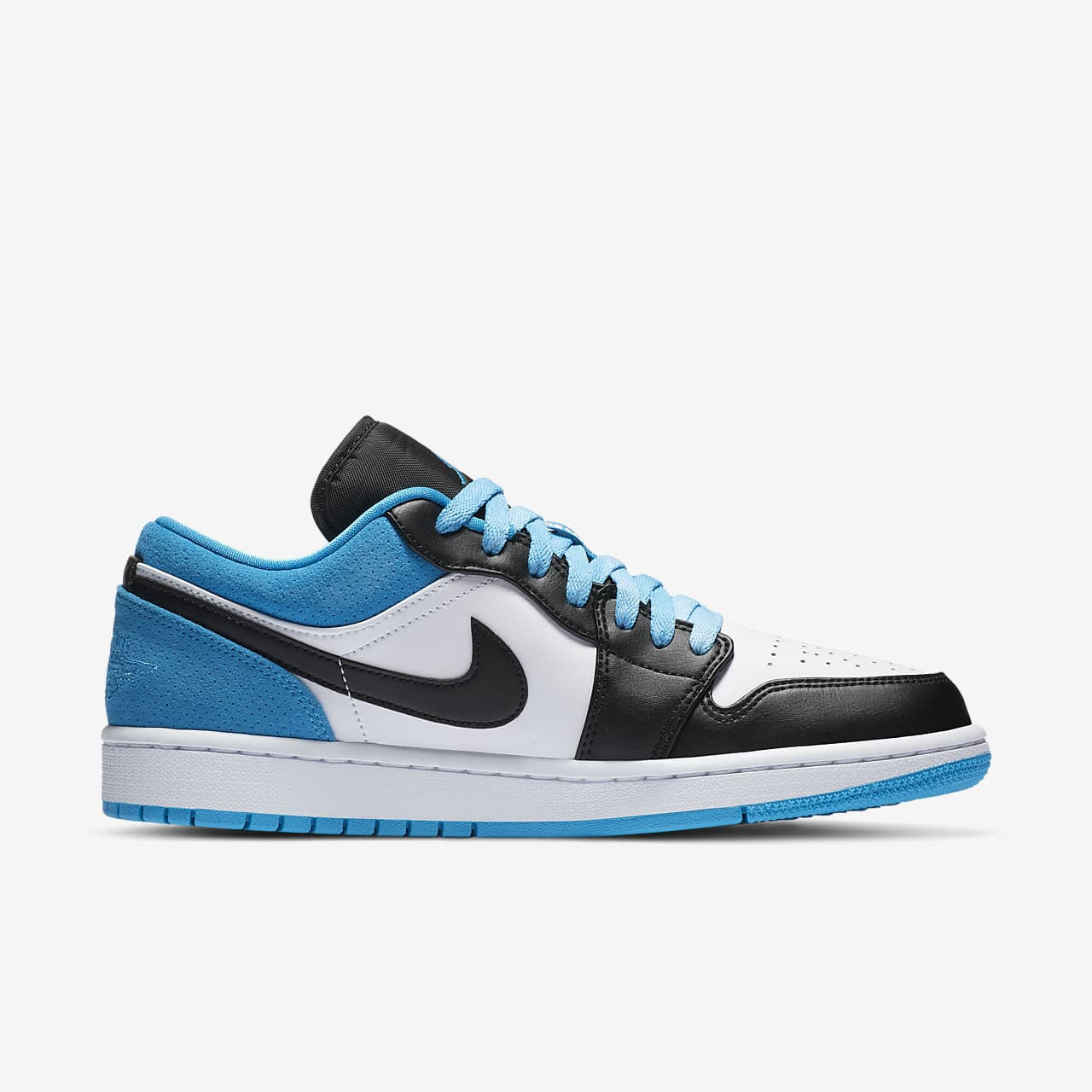 air jordan 1 low homme bleu