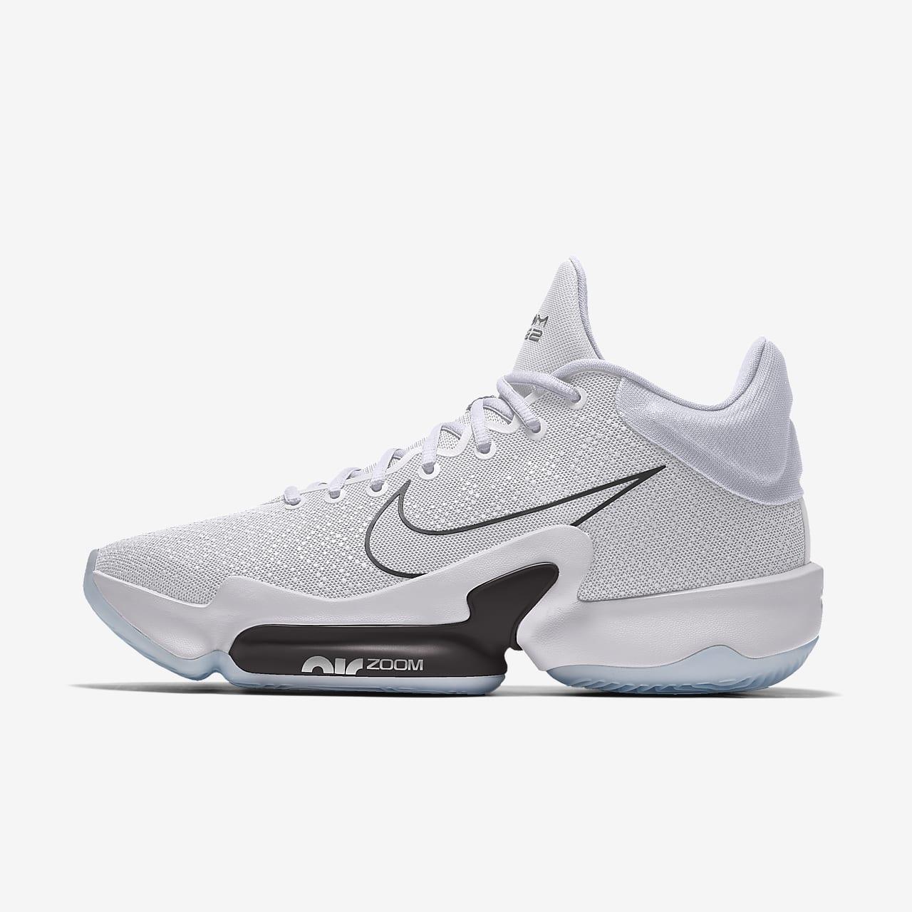 รองเท้าบาสเก็ตบอลออกแบบเอง Nike Zoom Rize 2 By You