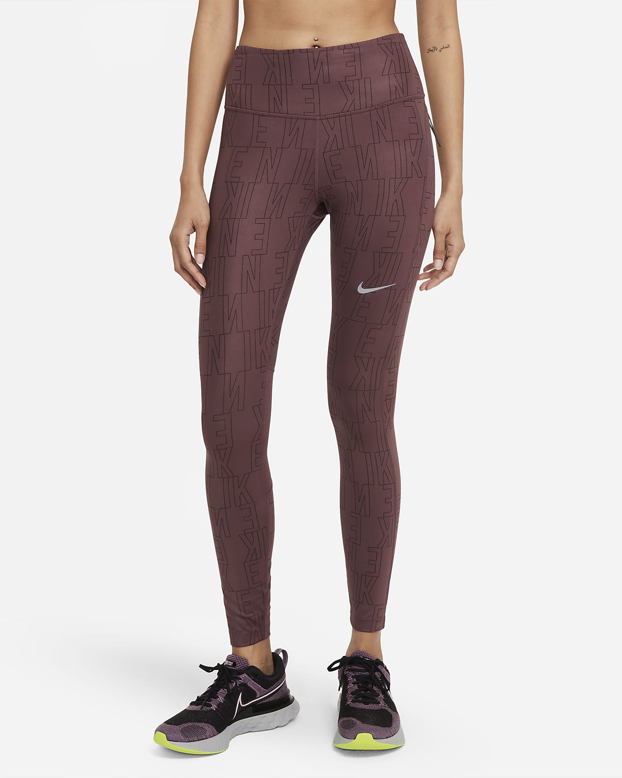 Leggings de running de tiro medio para mujer Nike Dri-FIT Run Division Epic Fast