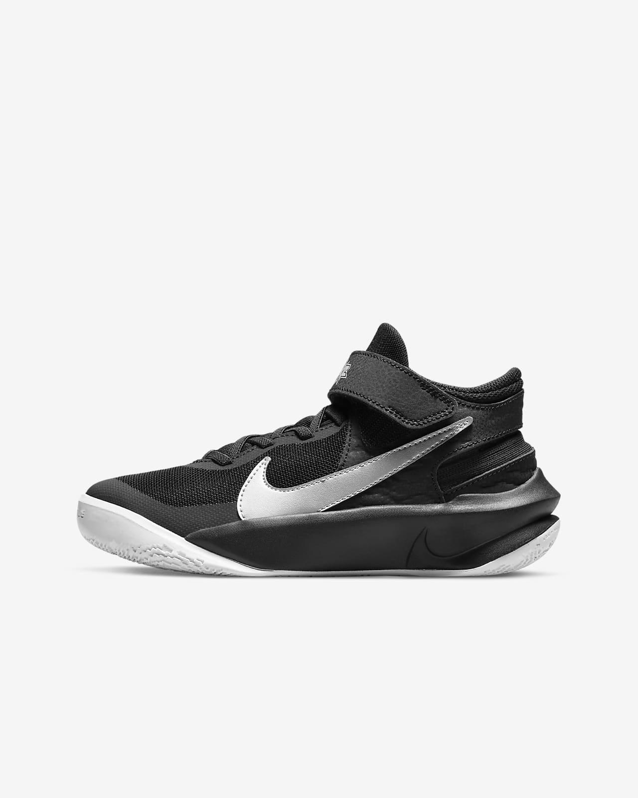 Nike Team Hustle D 10 FlyEase basketsko til store barn