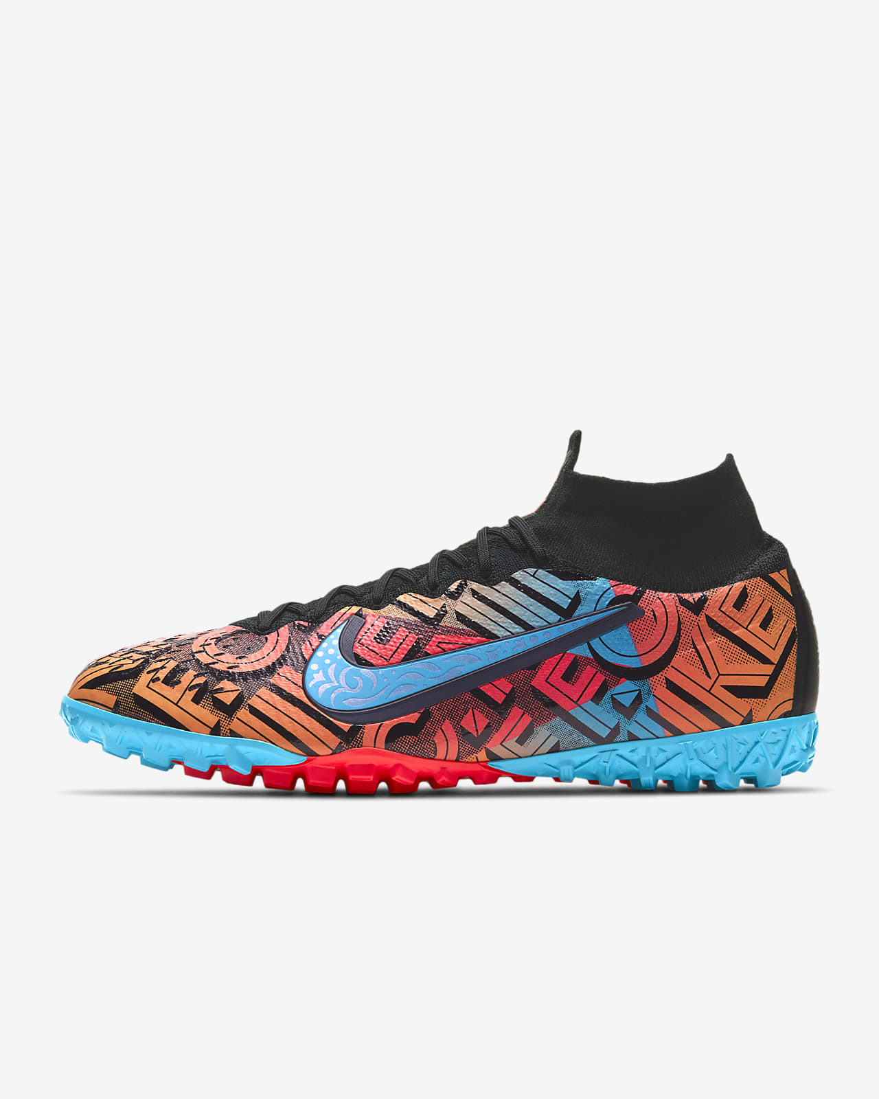 Nike Mercurial South Mexico City Superfly 7 Elite TF Artificial-Turf Soccer Shoe