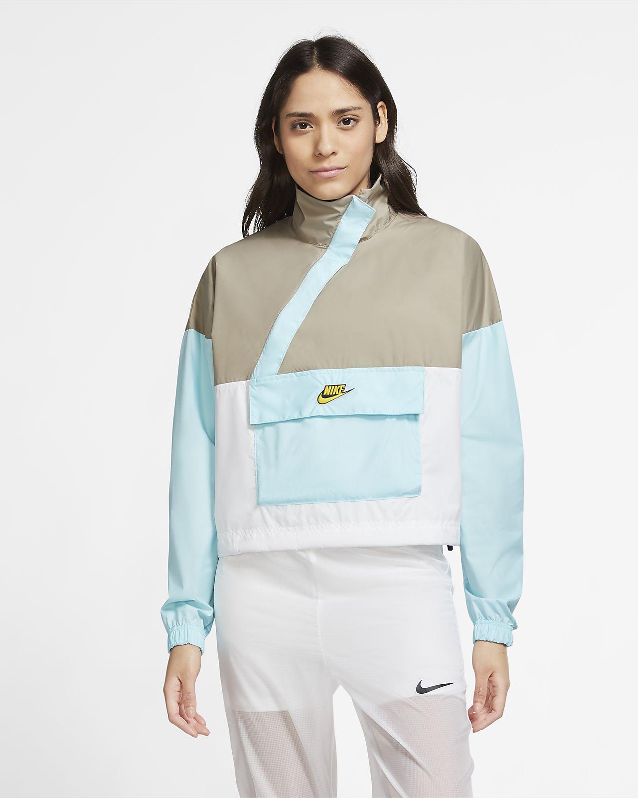 Dámská tkaná větrovka Nike Sportswear Icon Clash