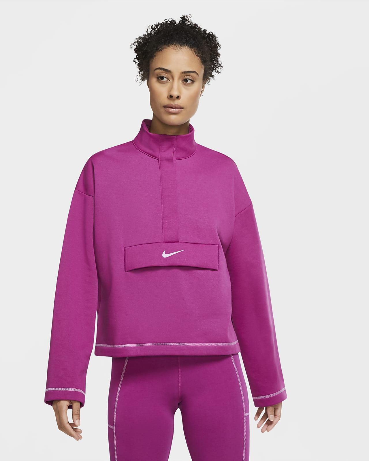 Nike Sportswear Swoosh Women's 1/2-Zip Fleece Top
