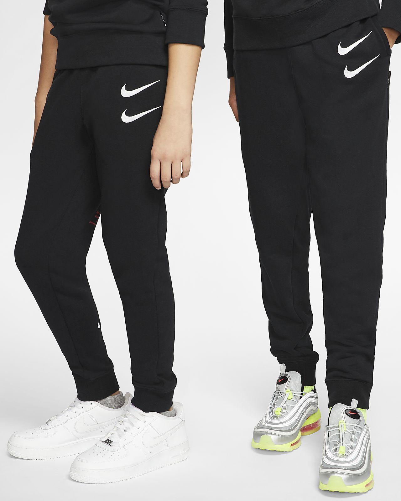 Nike Sportswear Swoosh French-Terry-Hose für ältere Kinder