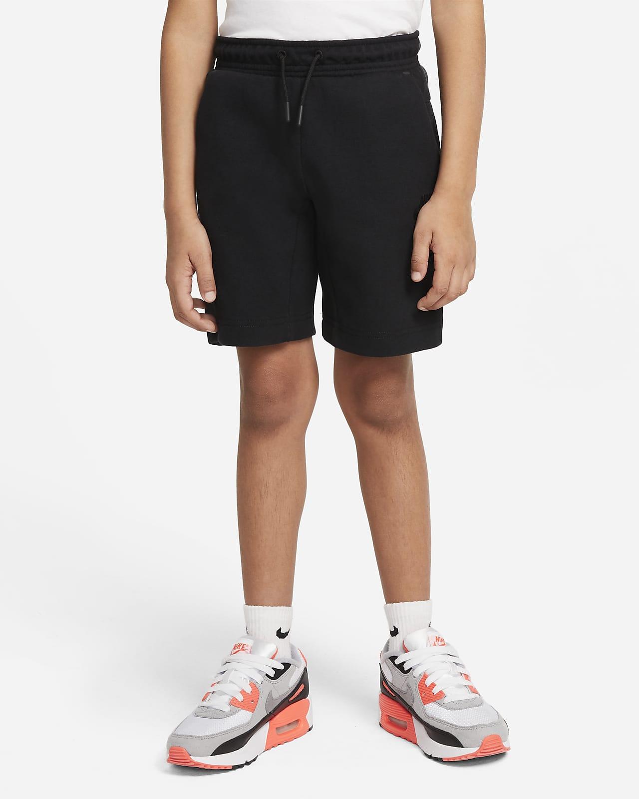 Nike Sportswear Tech Fleece Little Kids' Shorts