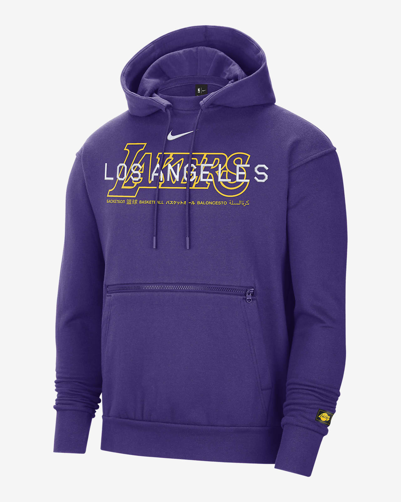 Lakers Courtside Men's Nike NBA Pullover Hoodie